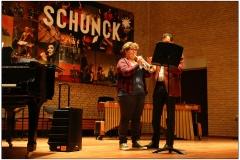 Mandy van Criekingen op trompet
