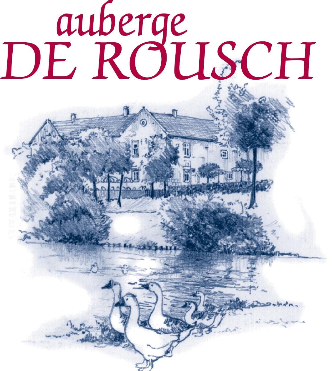 Logo Auberge de Rousch hoge kwaliteit